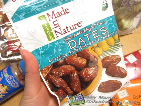 iherb made in nature デーツ