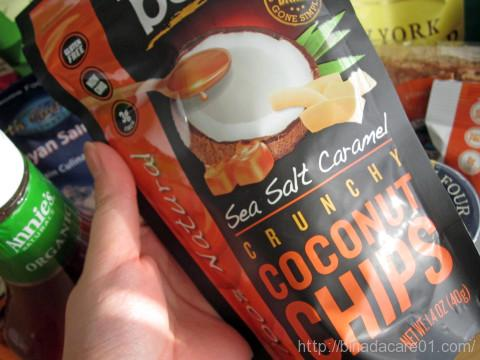 iherb bare fruit ココナッツチップ